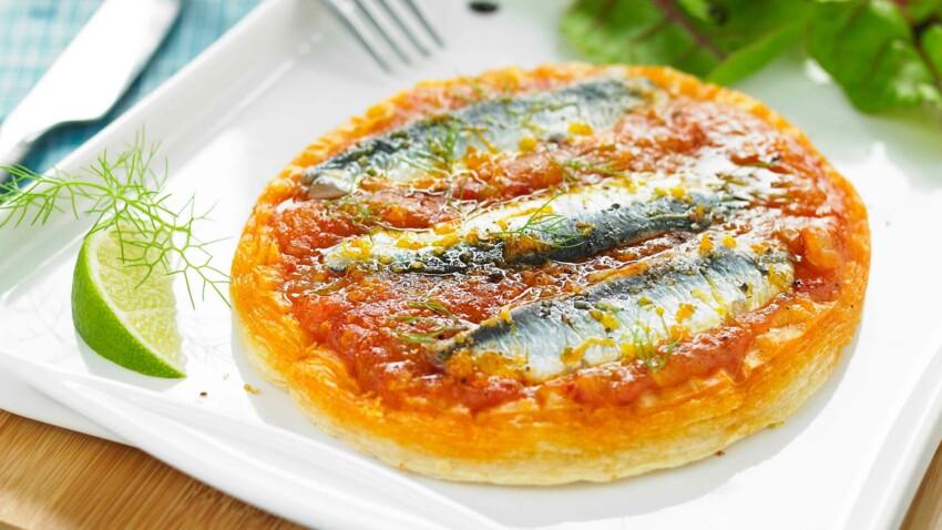 Fraîche ou en boîte : nos recettes à la sardine pour l'été