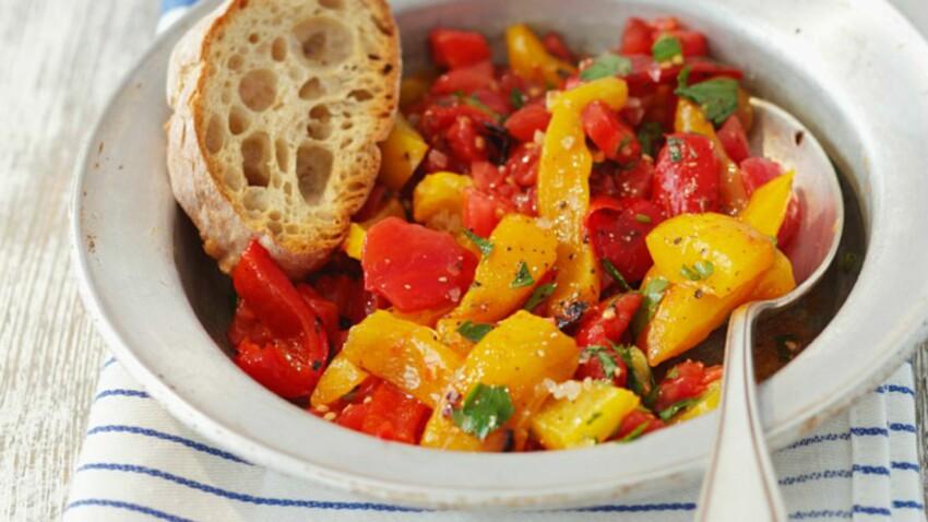 Nos meilleures recettes aux poivrons
