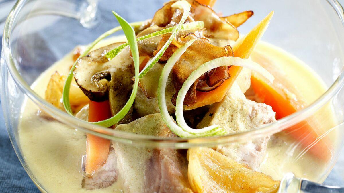 blanquette de veau au curry et citron vert, de jean-françois piège