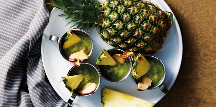 Smoothie Détox ananas concombre
