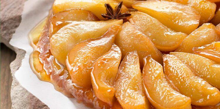 Tarte tatin de poires à l'anis étoilé