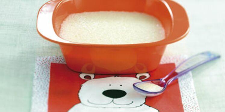 Potage de tapioca au lait