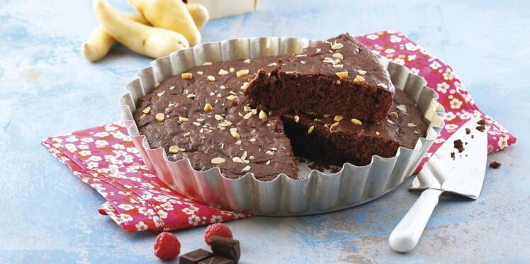 Gâteau de rattes du Touquet au chocolat