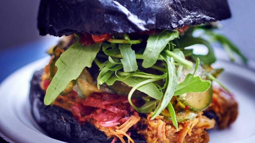 Le black burger