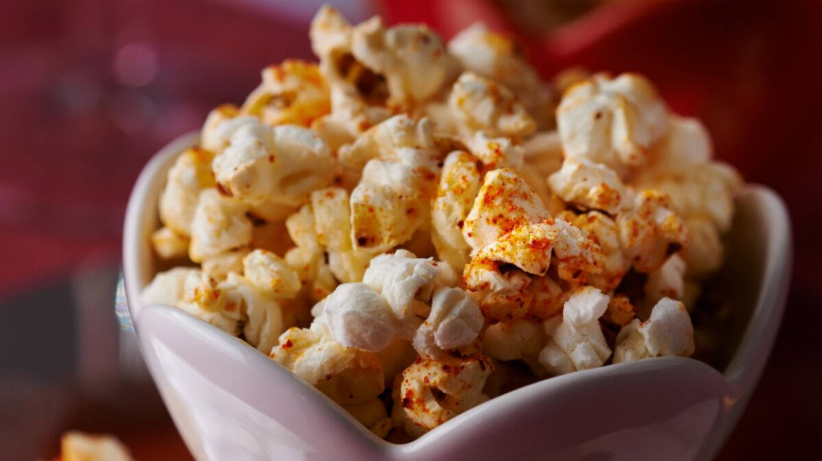 Pop corn au piment d'Espelette