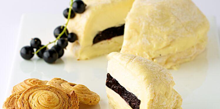 Soumaintrain affiné aux cassis et à la crème de Bourgogne