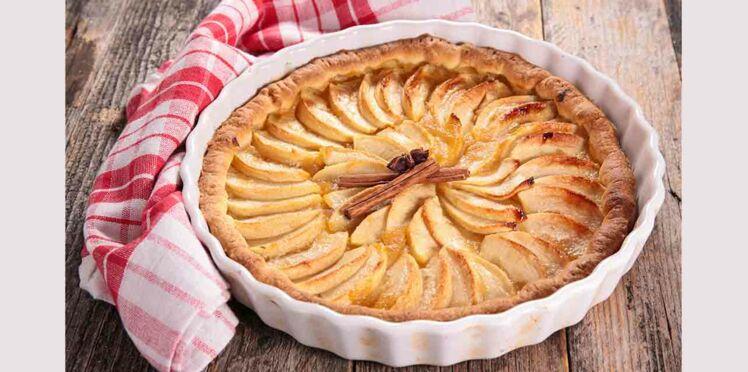 Tarte aux pommes l 39 alsacienne d couvrez les recettes de cuisine de femme actuelle le mag - Dessin de tarte aux pommes ...