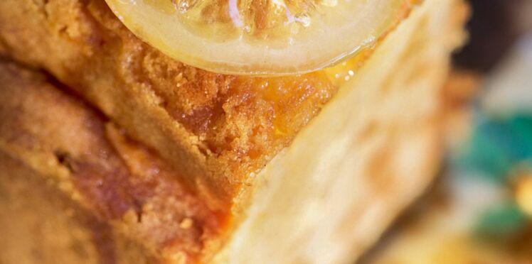 Cake au citron de Sophie et Pierre Lilamand