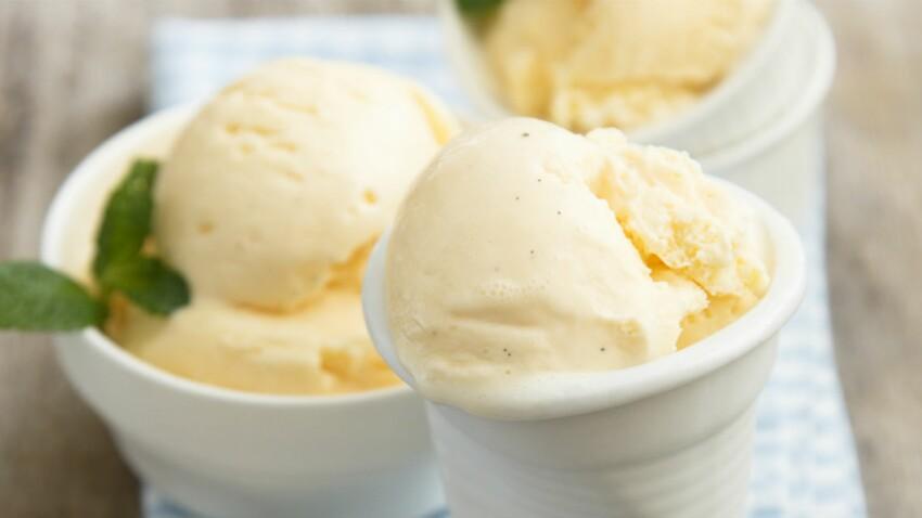 Glace vanille magique 5 minutes chrono