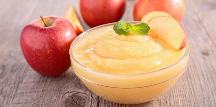 Compote de pommes au gingembre