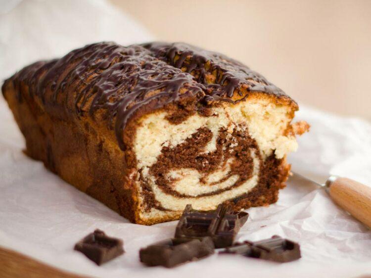 Cake marbré ultra moelleux : découvrez les recettes de cuisine de Femme Actuelle Le MAG