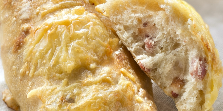 Petits pains lardons - comté