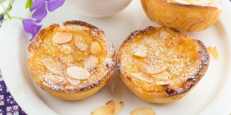 Pastel crème catalane aux amandes