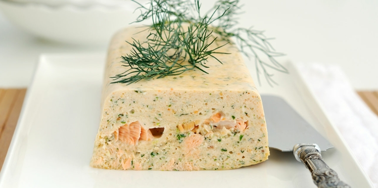 Terrine de saumon à l'aneth