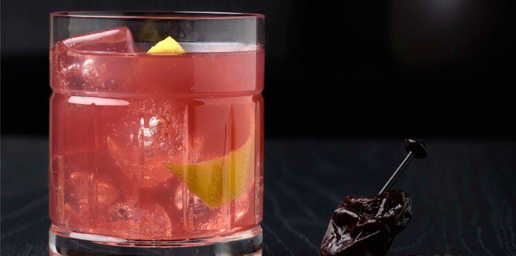 Plum Cocktail