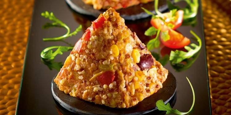 Galettes mexicaines au quinoa