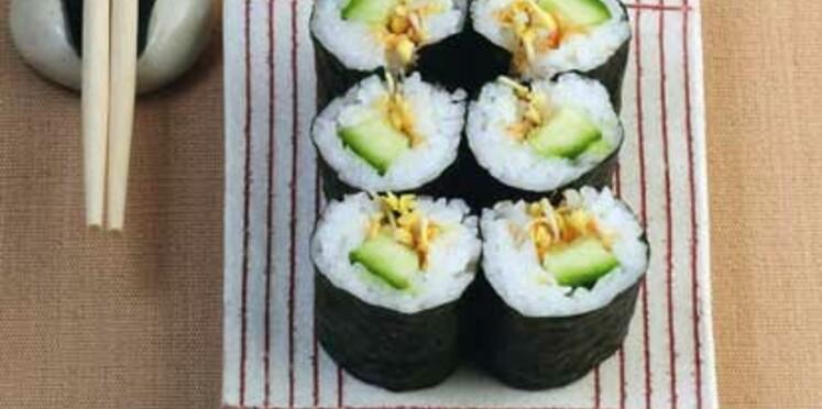 Mes meilleures recettes gourmandes de sushis