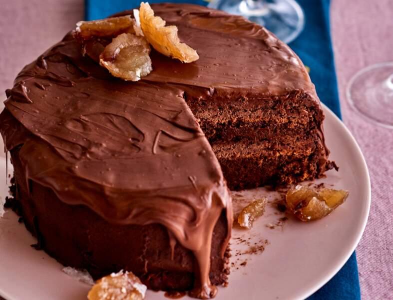 Layer cake super gourmand à la châtaigne