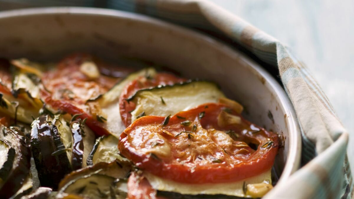 Gratin de légumes pimenté
