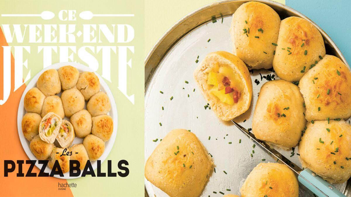 Pizza balls façon raclette