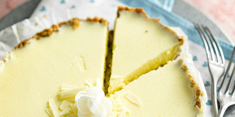 Cheese-Cake au chocolat blanc