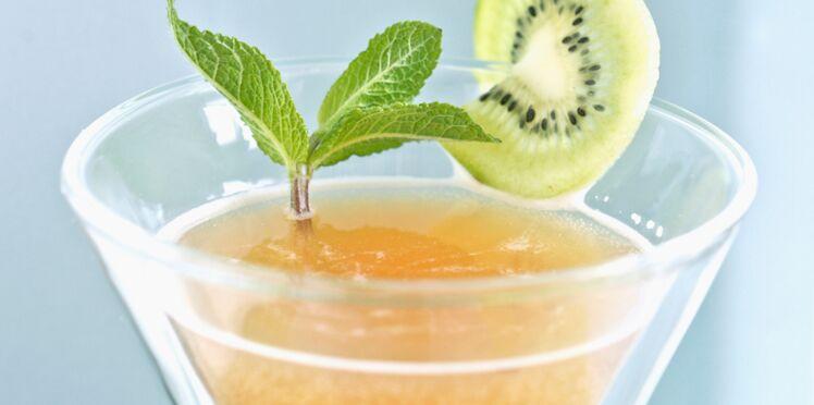Cocktail détox à la stevia