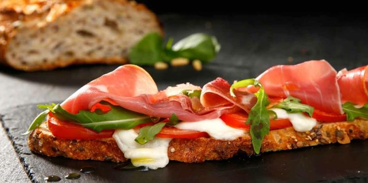La tartine tomate mozzarella en vidéo