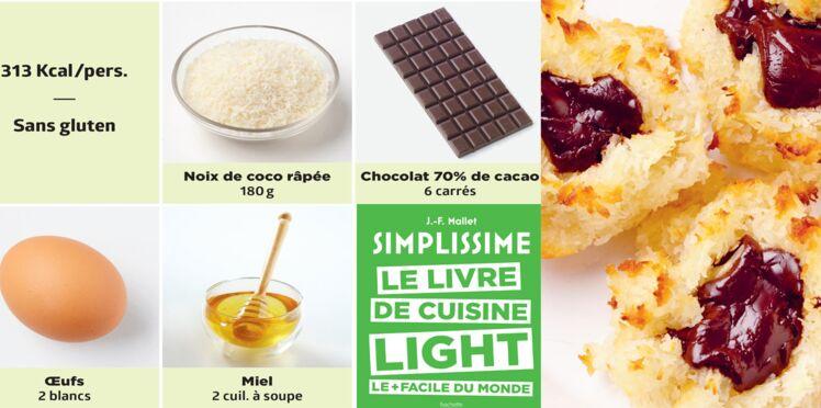 Boules coco-chocolat simplissime