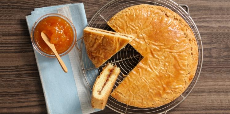 Gâteau à la confiture d'abricots
