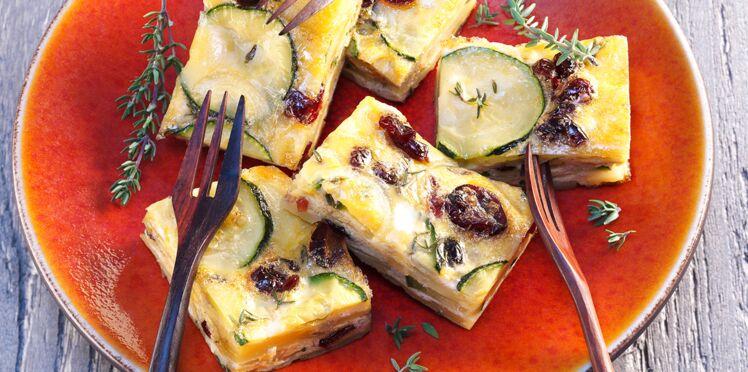 Bouchées de tortilla aux cranberries