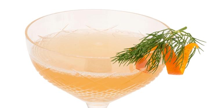Le Vieux Continent : cocktail pineau, cognac et Grand Marnier