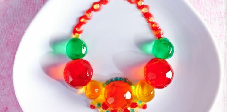 La plus belle des mamans : Gelées colorées comme des pierres précieuses