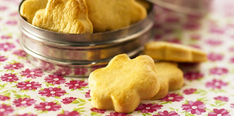 Petits biscuits sablés au beurre