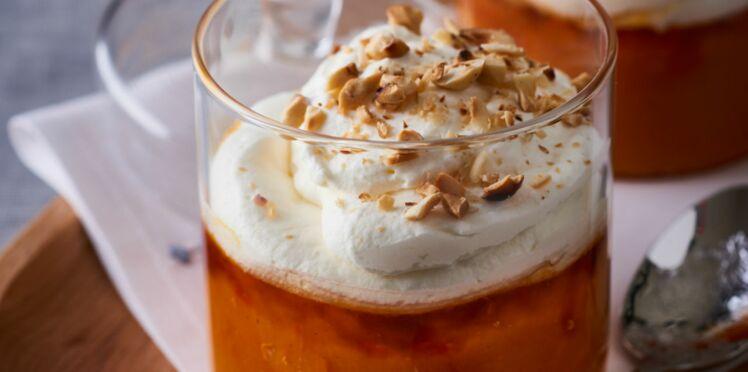 Crème de potimarron et noisettes au miel de montagne d'Emmanuel Renaut