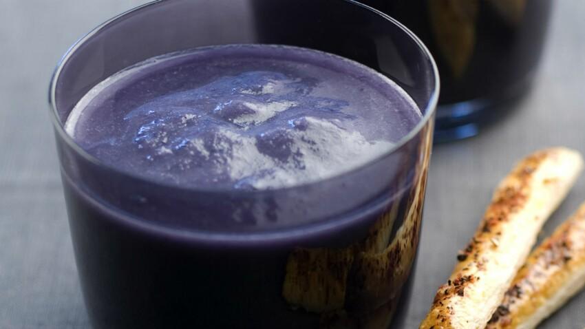 Soupe au chou rouge