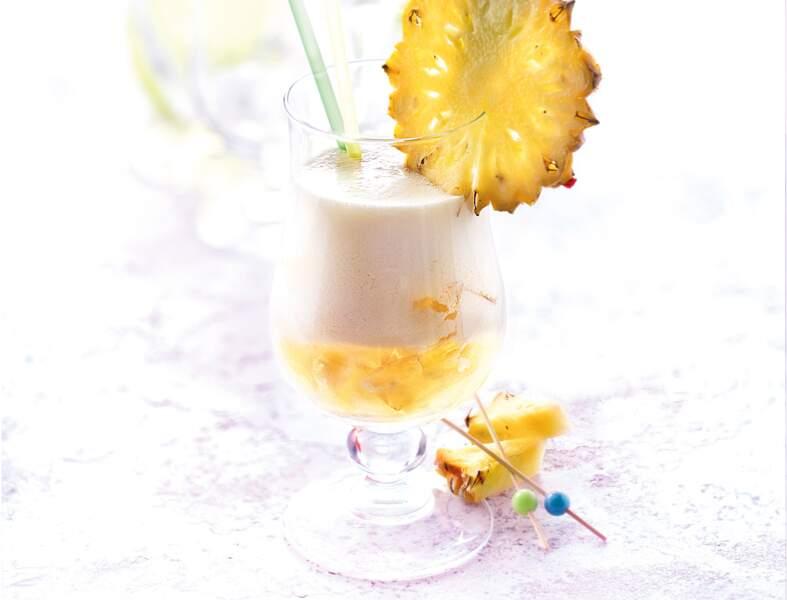 Cocktail pour la Vierge : la Piña colada glacée