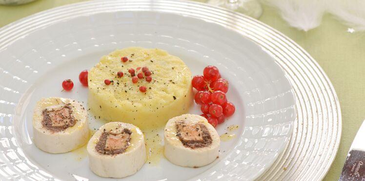 Suprême de volaille au foie gras