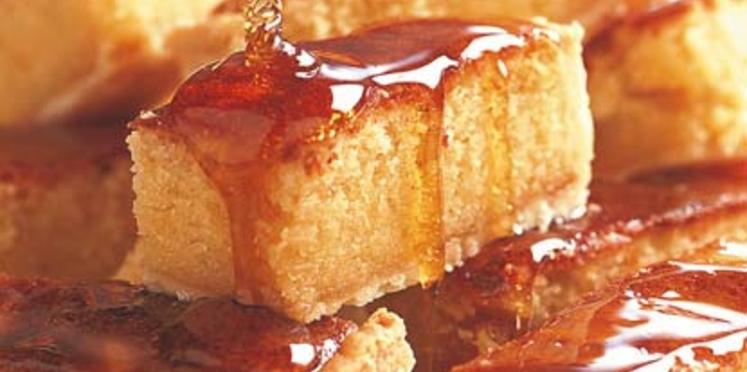Délices au miel et à la frangipane