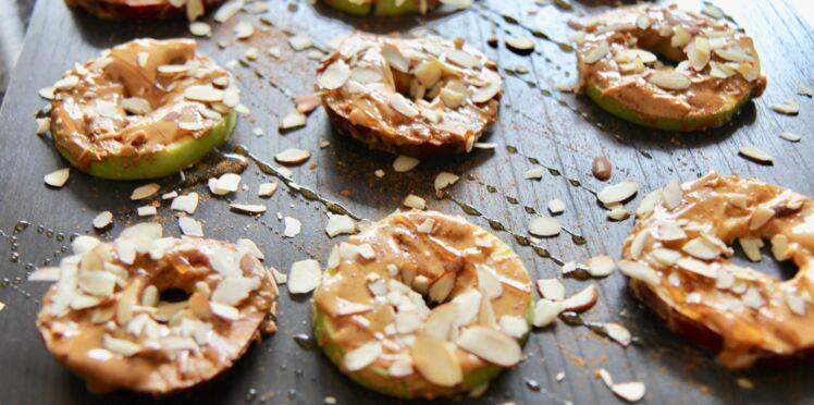 Bagels de pommes au beurre d'amande