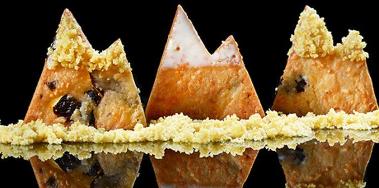Mont-Blanc cookies au fromage râpé
