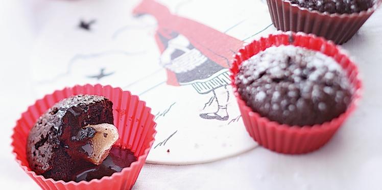 Mini-coulants au chocolat, cœur de gingembre de Laurent Mariotte