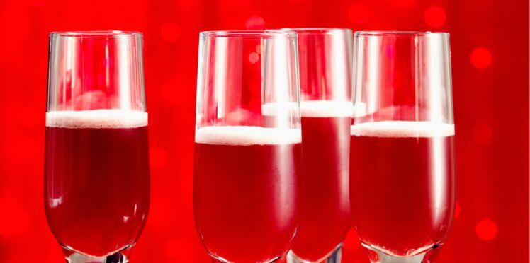Cocktail de fête : rosa italia