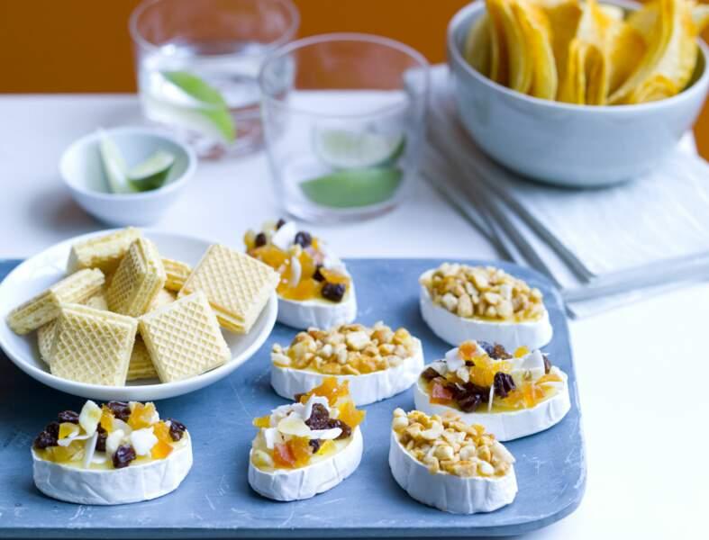 Mini camemberts croustillants