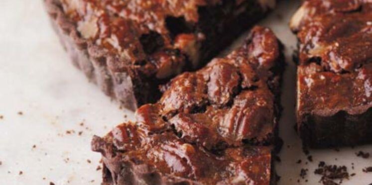 Brésilienne au chocolat et aux noix