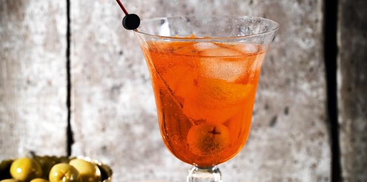 Spritz au vermouth blanc