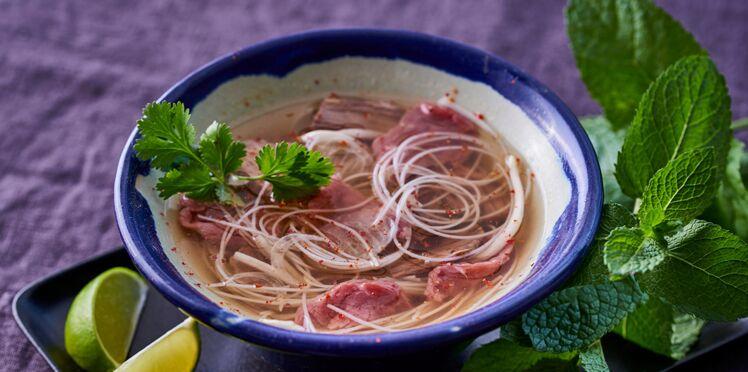 Soupe phô vietnamienne