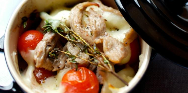 Languettes de veau à l'italienne