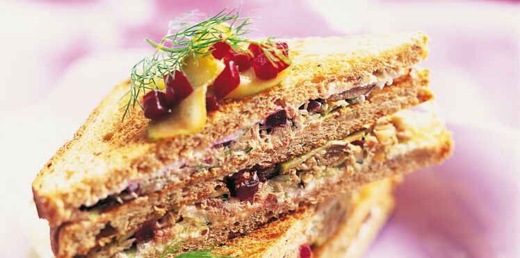 Sandwich nordique Caprice des Anges