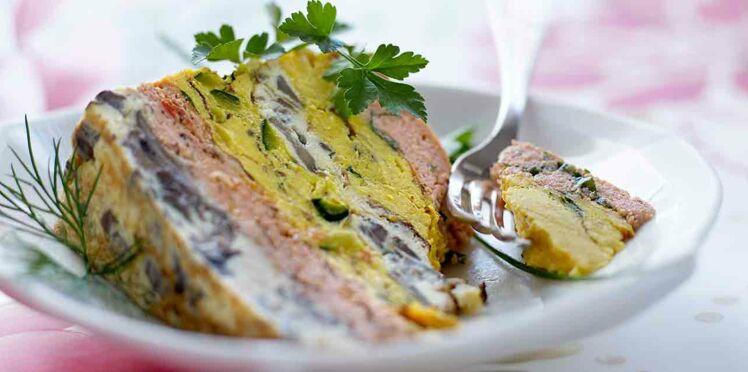 Gâteau d'omelette