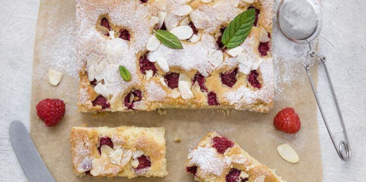 Quinoa aux amandes et framboises sans gluten
